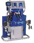 Graco IP H25 & H40 Spray Foam Proportioning Units for in-plant polyurethane foam processing.