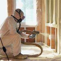 North American Processing's HF-2K6 closed cell spray foam insulation, yields 5500-6500 board feet. Sprayed foam insulation does not shrink, sag, settle, or biodegrade.