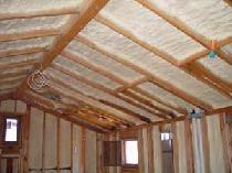 "Closed cell polyurethane spray foam insulation has among the highest R-Values of any commercially available insulation. In addition, the closed-cell nature of this foam provides for a highly effective air barrier, low moisture vapor permeability (often referred to as the ""Perm"" rating), and excellent resistance to water."