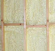 "Closed cell spray foam insulation incorporates an insulating gas that is retained within the cells (foam ""blowing agent""), which leads to the highly efficient insulating properties of the material."