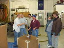 North American Processing provides spray foam training classes.  NAP will train you on the proper techniques and procedures for you to use your Graco Gusmer spray foam insulation mobile spray rig.