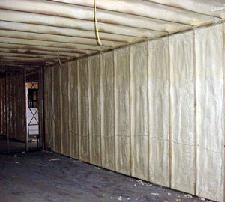 Spray foam insulation effectively protects your living space from unwanted moisture build-up and condensation caused by warm moist air meeting cool dry air within the building envelope (stud cavities, attics).