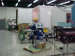 NAP specializes in integrating equipment into trucks and trailers, the facility located in Lapeer stocks sprayequipment by Graco Gusmer and Glascraft, along with generators, compressors, trailers, trucks, and Closed-cell foam in drums.