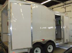 North American Processing will install your Graco H-40 spray foam proportioning unit in a 14' Sprintback thermal broke trailer.