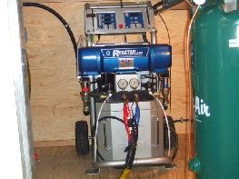 Gusmer Graco E-20 Spray Foam Insulation machine.
