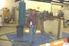 Equipment, gun & spray foam training offered at our facility in Lapeer, Michigan.