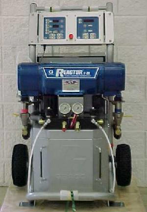 Gusmer Graco E-20 and E-30 Spray Foam Insulation machine.
