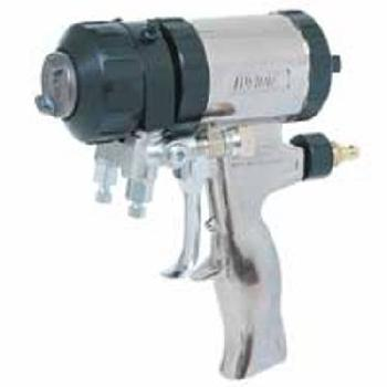 Gusmer Graco Fusion Air and Mechanical Purge Two Component Spray foam Gun for Foam or Polyurea / Polyurethane Coatings